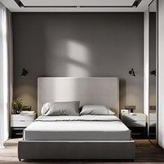 Минималистичная спальня ничего лишнего #interior #design #interiordesign #дизайн #дизайнпроект #дизайнинтерьера #интерьер #интерьерквартиры #дизайнер