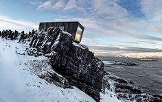 Architecturally Amazing Alpine Shelters   Conceived by architects and avid birders Tormod Amundsen, Alonza Garbett, and Elin Taranger of Bioto... - Photo: Tormod Amundsen/Biotope