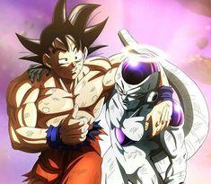 Frieza and Goku - Dragon Ball Super Dragon Ball Gt, Freezer Vs Goku, Z Wallpaper, Anime Merchandise, Animes Wallpapers, Manga, Anime Art, Fan Art, Meme