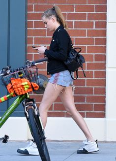 Cara Delevingne in Shorts Out and About in Los Angeles