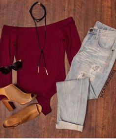 - Details - Size Guide - Model Stats - Contact Satisfy that sweet tooth with our burgundy Cravings Ribbed Bodysuit! Featuring a lightweight, ribbed-knit fabric with stretch. Straight neck front and ba