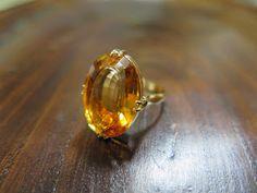 千本透かし blog / CLASSICS HAKOZAKI / 昭和ジュエリー: 557:千本透かし(打ち抜き) 2段 K18 シトリンリング #13.5 昭和ジュエリー Gold Rings, Jewelry, Jewellery Making, Jewlery, Jewelery, Jewerly, Fine Jewelry, Jewels, Jewel