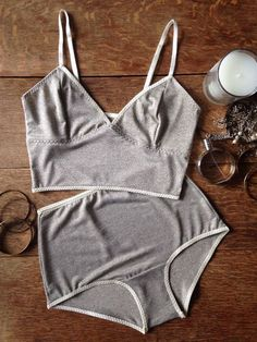 Glittery Marl Lingerie Set.  Soft cup bra and by NahinaLingerie Buy Online Women Sexy panties and Buy Sexy Women panties @ Fashion Cornerstone. Great discounts all year.