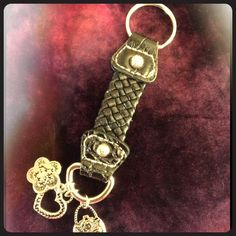 "Spotted while shopping on Poshmark: ""braided key fob with charms free with bundle!""! #poshmark #fashion #shopping #style #Accessories"