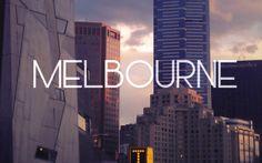 Bienvenue à Melbourne...