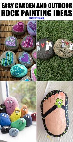 Easy-garden-and-outdoor-rock-painting-ideas