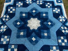 granny square crochet quilt - Inspiration only