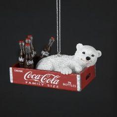 Take a look at this Coca-Cola Coca-Cola Polar Bear Cub in Box Ornament today! Coca Cola Santa, Coca Cola Polar Bear, Coca Cola Christmas, Coca Cola Merchandise, Pays Francophone, Coca Cola Kitchen, Cocoa Cola, Always Coca Cola, World Of Coca Cola