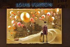Louis Vuitton escaparate/ estudio colores