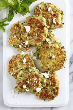 Zucchini and Feta Fr