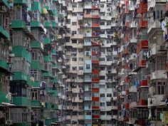 La estresante densidad de Michael Wolf  #photography