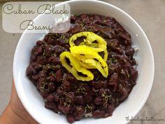 January 6: National Bean Day | Cuban Black Beans