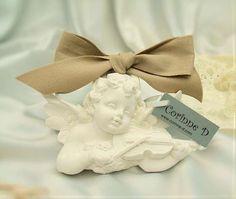 #corinne d - #gessi profumati - #profumatore appendibile co #angelo e violino