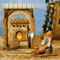 5 Inch Scale Bakery Collection by Fontanini Would You Rather, Bakery, Scale, Collection, Check, Christmas, Nativity Scenes, Weighing Scale, Xmas