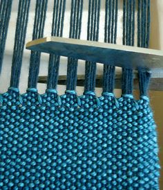 Whit's Knits: Woven Scarf - The Purl Bee