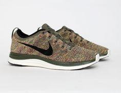 #Nike Lunar #Flyknit Multicolor #Sneakers