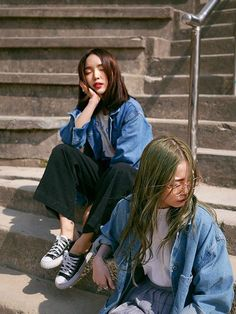 Korean Fashion – How to Dress up Korean Style – Designer Fashion Tips Korea Fashion, Asian Fashion, Look Fashion, Fashion Beauty, Girl Fashion, Fashion Outfits, Womens Fashion, Trendy Outfits, Asian Street Style