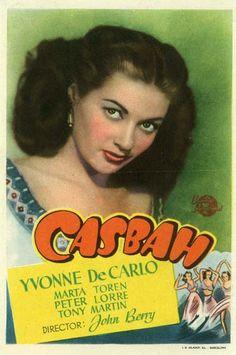 1948 - Casbah - Yvonne de Carlo...