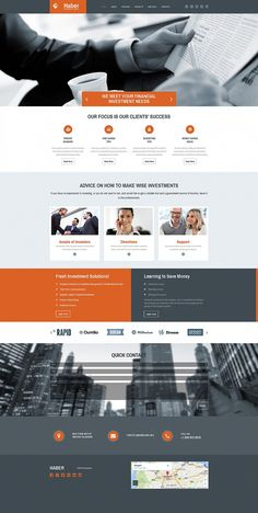 Business Responsive Moto CMS 3 Template, Browse the collection of Corporate Responsive Moto CMS 3 Templates. First-rate business website maker allows you to use powerful features. Website Design Layout, Website Design Company, Website Design Inspiration, Web Layout, Rpg Maker, Logo Design, App Design, Flat Design, Geek Culture