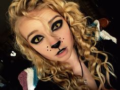 I USED TO BE SCARED OF CATS: Top 10 Cat Costume Ideas - big cat makeup