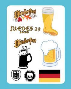 Hoy Jueves, 20:30,  > OKTOBERFEST Toda tu cerveza alemana favorita (Franziskaner, Schneider Weisse, Paulaner, Erdinger, Köstritzer, Beck's, etc) sólo hoy a un precio muy especial.  > Encuentro Multilingüe (Mesas de inglés y español para extranjeros)