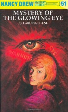 The Mystery of the Glowing Eye (Nancy Drew Mystery Stories, No 51) by Carolyn Keene. $7.99. 192 pages. Publisher: Grosset & Dunlap; 1ST edition (January 1, 1974). Author: Carolyn Keene. Reading level: Ages 8 and up. Series - Nancy Drew (Book 51)
