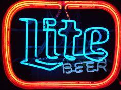 Vintage Miller Lite Beer Neon Sign Man Cave Bar Light Not Bud! from $139.99