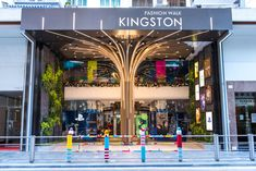 Discover ideas about atrium design Atrium Design, Entrance Design, Main Entrance, Facade Design, Exterior Design, Mall Design, Retail Design, Store Design, Commercial Architecture