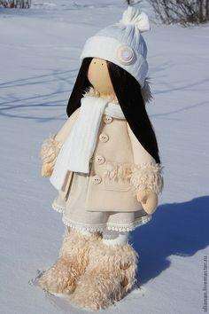 Купить Кукла Кристи. - бежевый, кукла ручной работы, текстильная кукла, кукла в подарок