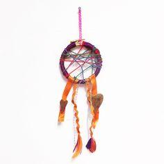Easy diy dreamcatcher - children's crafts - therapeutic crafts