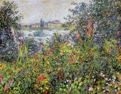 Flowers at Vetheuil 1881 - Claude Monet