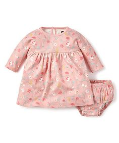Tea Collection Sugar Floral Dress & Diaper Cover by Tea Collection #zulily #zulilyfinds