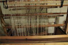 Loimen laittaminen kangaspuihin 2/7 niisiminen