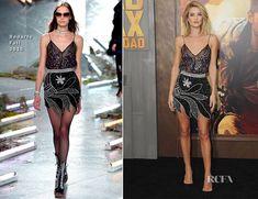 Rosie Huntington-Whiteley In Rodarte – 'Mad Max: Fury Road' LA Premiere