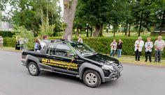 Tag des Bergmanns in Lehesten/Thür. Wald am 2.7.2017. Der Festumzug des Vereinsverbands Bergmannsfest Lehesten. Monster Trucks, Vehicles, Moving Home, Woodland Forest, Car, Vehicle, Tools