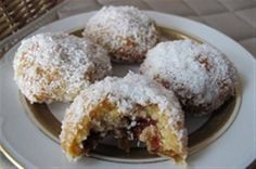 Greek Sweets, Greek Desserts, Greek Recipes, Gourmet Recipes, Cookie Recipes, Dessert Recipes, Xmas Food, Christmas Baking, Food Cakes