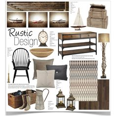 """""""Rustic Design"""" by jpetersen on Polyvore"""