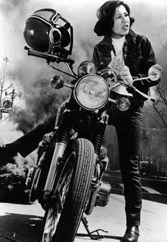Akiko Wada, Japanese pop singer, starring in the film Stray Cat Rock: Delinquent Girl Boss (1970).