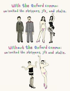 The Oxford Comma And Why EVERYONE Should Use It 6 - https://www.facebook.com/diplyofficial