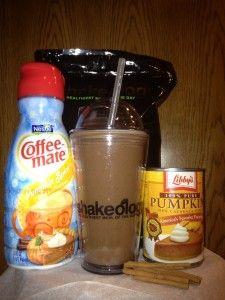 Chocolate Pumpkin Spice Shakeology #healthiestmealoftheday #shakeology