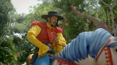 Zelão e seu valente Quarta-Feira, companheiro fiel de muitas aventuras!!