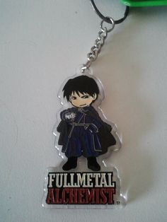 Key Chain Roy Mustang