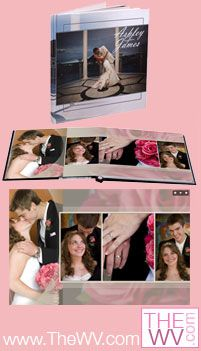 Enter to win this custom wedding photo album artfully designed with 50 of your favorite photos from www.TheWV.com. Winner will be selected Dec. 14, 2011. Wedding Giveaways