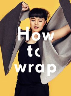 you make it unique! you wrap it the way you need. adapts to your needs to your daily routines. Outfit, Wrap Dress, Wraps, Unique, Daily Routines, Sweaters, How To Wear, Clothes, Dresses