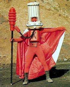 "Stove Mask (ストーブ仮面)from ""Himitsu Sentai Goranger"" 1976"