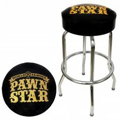 Pawn Stars fans will love the official Pawn Stars 30 inch bar stool.  The Pawn Stars bar stool is proudly made in the USA and available for only $99.95 each.