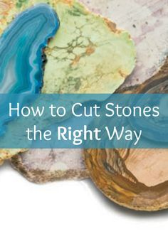 If you like gemstones, then you'll LOVE these 5 FREE stone cutting projects that'll teach you how to cut stones the right way. #jewelrymaking #gemstones #DIY