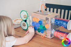 Home made cardboard robot craft for children (6)
