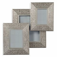 Vanguard Frame in brushed silver $19.95 - $29.95 #ZGallerie