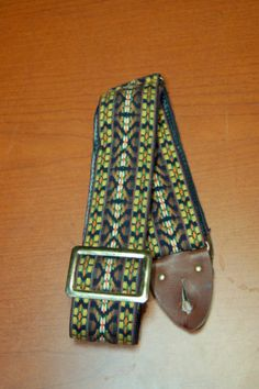 Vintage RARE 1960's Ace Style Hippy Woodstock Guitar Strap WOW   eBay.. Give us a call. Lawman Guitars. 515-864-6136